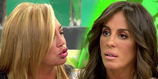 Tensión bestial en los pasillos de Telecinco: ¿Belén Esteban ha pedido la cabeza de Anabel Pantoja? ¿Por qué se odian ahora?