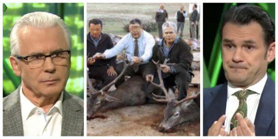 El mayor ridículo de Iñaki López: le pregunta al cazador Garzón por el cambio climático y 'olvida' esta foto demoledora