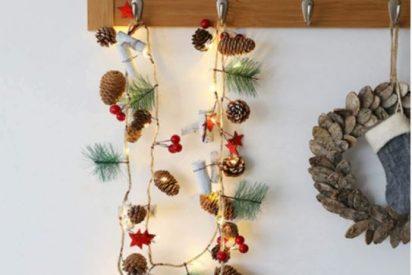 Coronas y guirnaldas de Navidad
