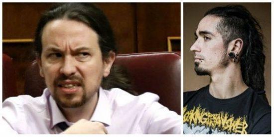 La vergonzosa foto de la que no quiere hablar Pablo Iglesias con los podemitas vallecanos apoyando al criminal Rodrigo Lanza