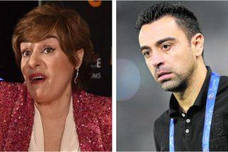 """Anabel Alonso insulta a Xavi tras sus últimas declaraciones:""""descerebrado"""""""