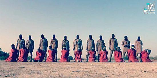 El Estado Islámico asesina salvajemente a un grupo de rehenes cristianos en Nigeria