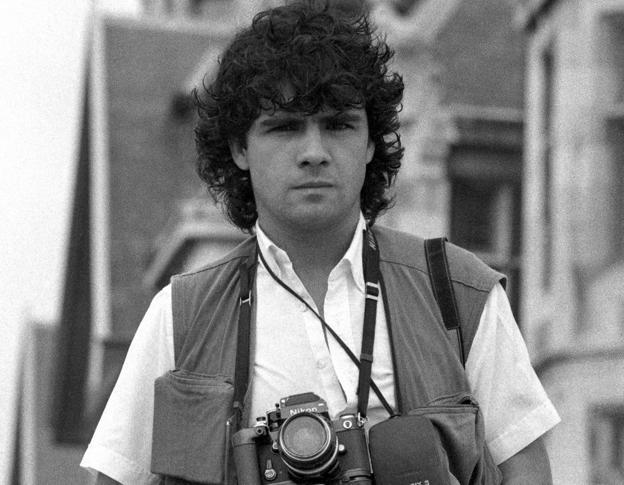 EEUU tendrá que indemnizar a la familia del fotógrafo Juantxu Rodríguez, muerto en 1989 durante la invasión de Panamá