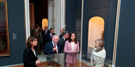 Reina Letizia - Visita La otra Corte. Mujeres de la Casa de Austria en los monasterios reales de Las Descalzas y La Encarnación © Casa S.M. El Rey