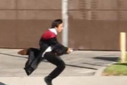 ¿Todavía no has visto el increíble truco del mago que consigue volar en una escoba como Harry Potter?