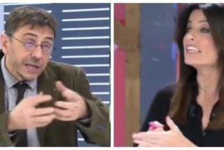 """Cristina Seguí deja besando la lona a Monedero: """"¿Trabajo infantil? En Bolivia, donde tú cobrabas de Evo Morales"""""""