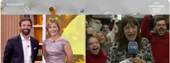 ¿Qué va a hacer TVE con Natalia Escudero, la reportera que engañó a los espectadores con el 'Gordo'?