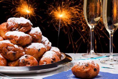 Oliebollen, receta de Año Nuevo en Países bajos