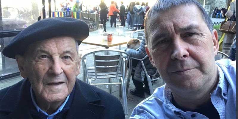 Otegi presume de la salud de su anciano padre y las redes le recuerdan a todos los progenitores asesinados por ETA
