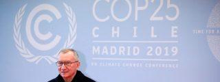 El secretario de Estado del Vaticano dice que 'el papa Francisco cree en la COP25'