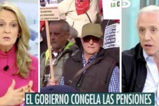 Pensionistas, ¡rehenes del niño caprichoso Pedro Sánchez! Eduardo Inda denuncia el gran engaño