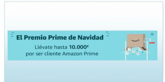 Sorteo Premio Prime Navidad en Amazon