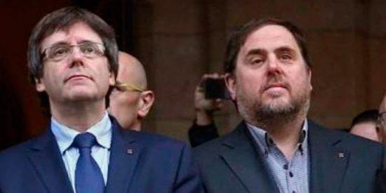 El 'indecente' sueldo que cobrarán Puigdemont y Junqueras es mayor que si les hubiera tocado el 'Gordo' de Navidad