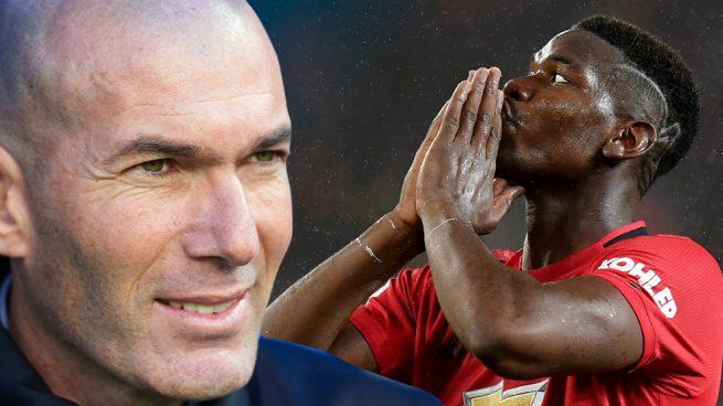 Zidane y su pulso por Pogba