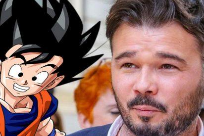 """Gabriel Rufián, de quien depende el futuro Gobierno de España: """"Todo lo que sé de la vida es gracias a Bola de Dragón y mi único Dios es Son Goku"""""""