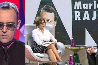 El desahogado Risto Mejide da un paso más allá en su desvergüenza y critica la entrevista que le hizo su compañera Ana Rosa Quintana a Mariano Rajoy