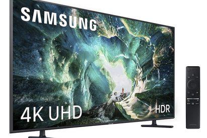 Si buscas una Smart TV 4k 'poderosa', la Samsung 4K UHD 2019 55RU8005 es tu mejor opción