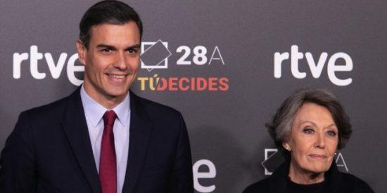 La TVE de Sánchez crucificó a Plácido Domingo pero silencia la presunta violación en Gran Hermano de Telecinco