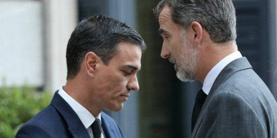 """El Rey Felipe dinamita Moncloa con su aviso y bronca a Sánchez: """"No te saldrá gratis pactar con ERC"""""""