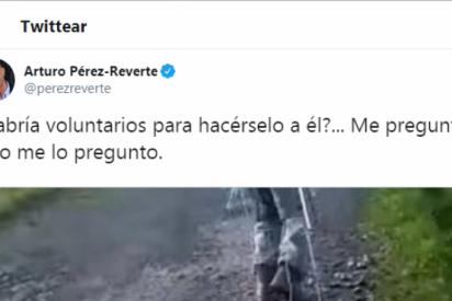 """Pérez-Reverte busca """"voluntarios"""" para hacerle al cazador de Chantada lo mismo que éste hizo a su perra Alm"""