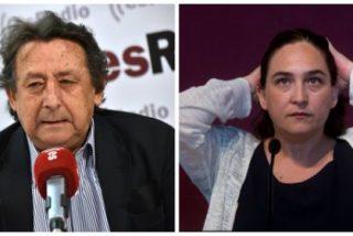 """Alfonso Ussía le da con la mano abierta a 'Nada' Colau por su espantajo de Belén: """"Es una majadería, solo le falta un retrete"""""""