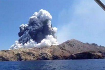 Mas de una decena de muertos por la erupción de un volcán en Nueva Zelanda
