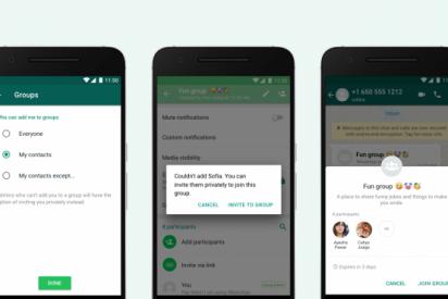 Con esta nueva actualización de Whatsapp evitarás que te añadan a chats de grupo no deseados