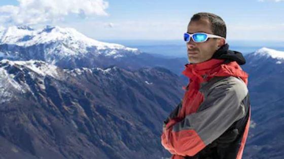 gafas polarizadas en la nieve