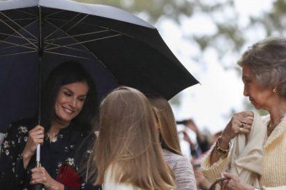 La foto que oculta Casa Real: otra vejación de la Reina Letizia a Doña Sofía en Palma