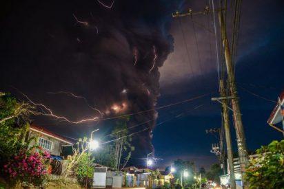 Filipinas: las impactantes imágenes de la erupción del volcán Taal