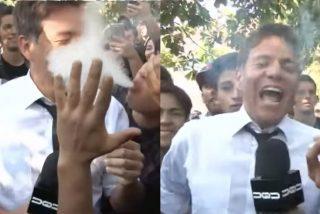 Los 5 momentos más extraños de reporteros drogados en vivo