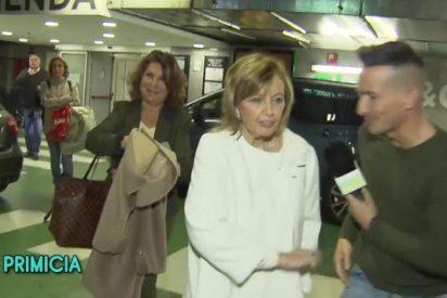 María Teresa Campos machaca a un reportero de 'Sálvame': ¿Será porque no la pagaban?