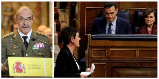 """El Jemad se despide de los militares con una carta que contiene un palo velado a Sánchez: """"Seguid defendiendo al Rey y a vuestra patria"""""""