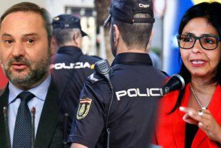 Exclusiva: demandan a los funcionarios que impidieron a la Policía Nacional capturar a Delcy Rodríguez en Madrid