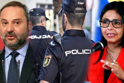 José Luis Ábalos humilló a un oficial de Policía para proteger a Delcy Rodríguez