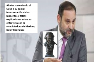 "Manuel del Rosal: ""Goya al mejor papelón: ""And the winner is"" …¡José Luis Ábalos!"""