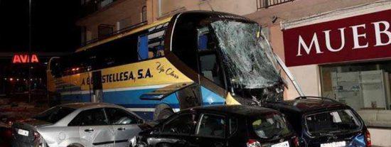 El padre de los niños que murieron en Estella iba en el autobús que impactó al coche de su familia