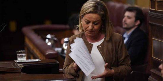 La valiente Ana Oramas, sometida a una presión asfixiante, al borde de las lágrimas en el Congreso