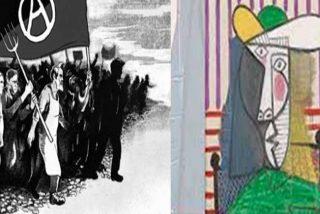 El idiota que destrozó en Londres un Picasso valorado en 23,5 millones es un murciano que se declara anarquista