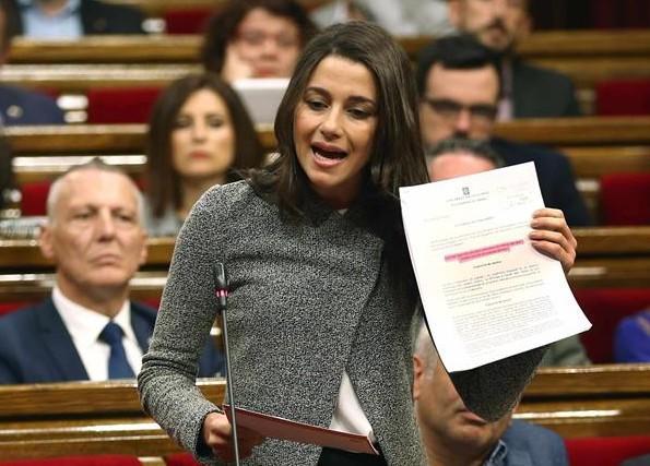 Inés Arrimadas a Pablo Iglesias: explique los pagos de Evo a la consultora vinculada a Podemos
