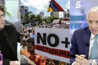 El 'progre' Fernando Berlín se hace el indolente con Venezuela y termina implorando a Inda que le dé cuartelillo