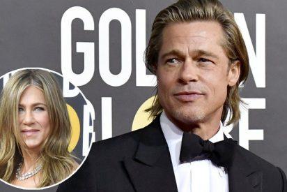 Globos de Oro: El discurso de Brad Pitt, una broma sobre sus amoríos y la mirada de Jennifer Aniston que enloqueció a las redes