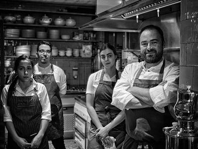 Ignacio Solana aporta finura y calidez a La Cocina de Frente con su cocido de montaña
