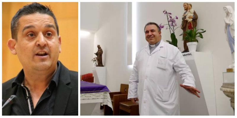 """Carles Mulet (Compromís) exige a Sánchez que eche a la Iglesia en los hospitales españoles: """"Quien tenga vicios que se los pague"""""""