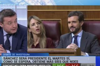 El chico de Roures en TVE, Chema Crespo, defiende las salvajadas de Bildu contra el rey y dice que el PP