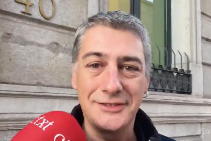 Vea la chulería con la que este bilduetarra socio de Sánchez presume de poner y quitar presidentes de España