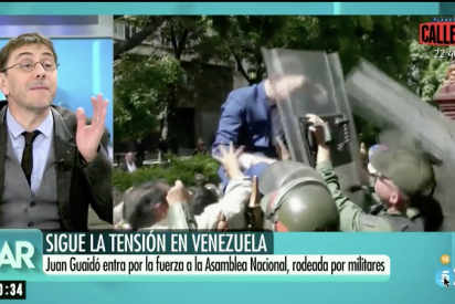"Ana Rosa Quintana zarandea a Monedero por atacar vilmente a Guaidó: ""¡Es una vergüenza!"""