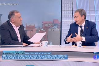 El 'chavista' Zapatero, retratado en TVE con un nuevo blanqueamiento a Maduro y una amenaza velada a Guaidó