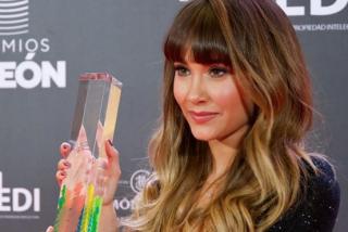 Aitana Ocaña o cómo ser la protagonista de los Premios Odeón: revela qué hace en Los Ángeles