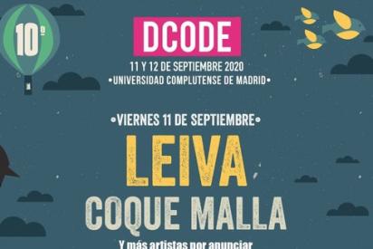 DCODE: confirmados Leiva y Vetusta Morla